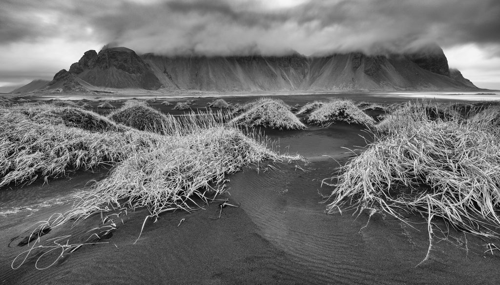 Storm Over Vestrahorn - by Jon Barker