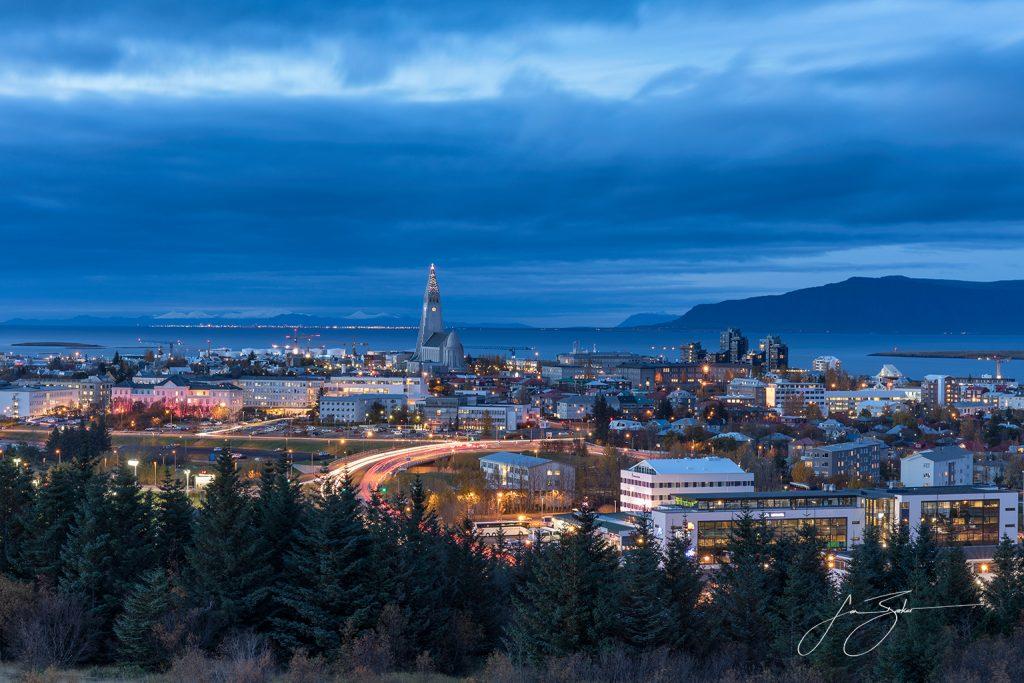 Cityscape: Reykjavik - Reykjavik, Iceland by Jon Barker