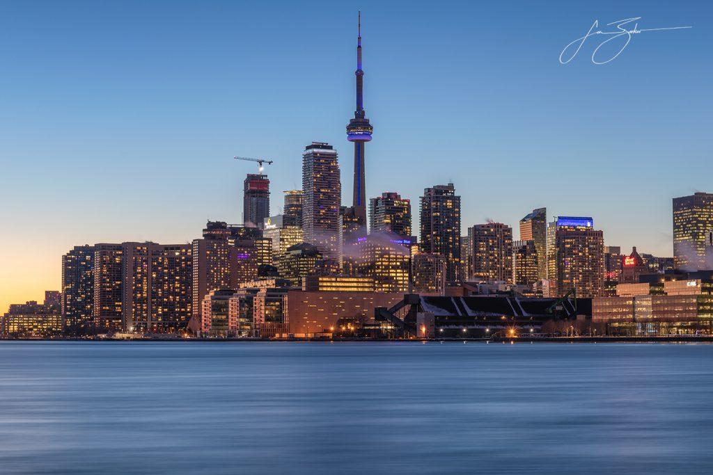 Cityscape II: Toronto, Canada by Jon Barker