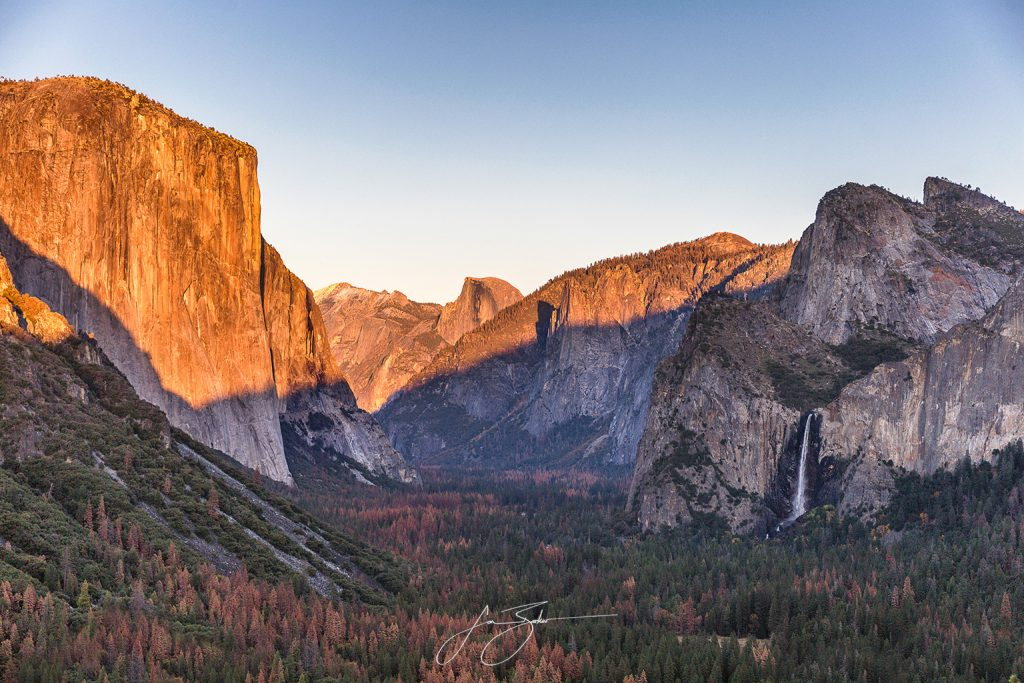 Valley View at Yosemite by Jon Barker