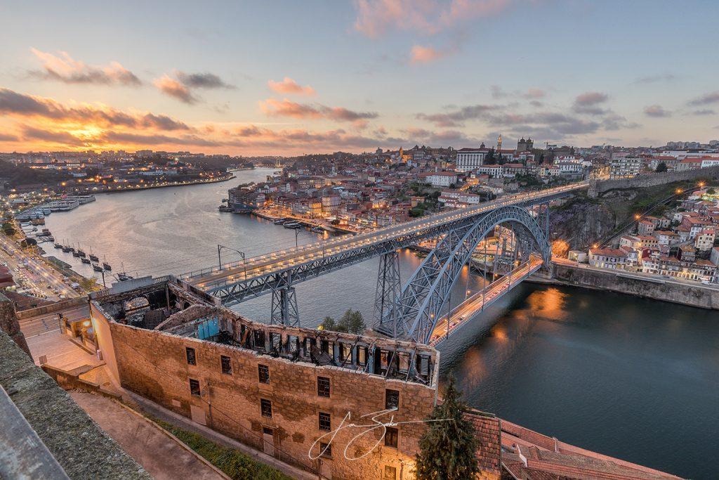 Cityscape: Porto, Porto, Portugal by Jon Barker
