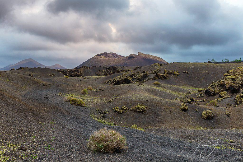 Volcan el Cuervo in Lanzarote by Jon Barker