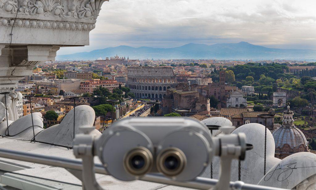 Roman Overlook - Rome, Italy by Jon Barker