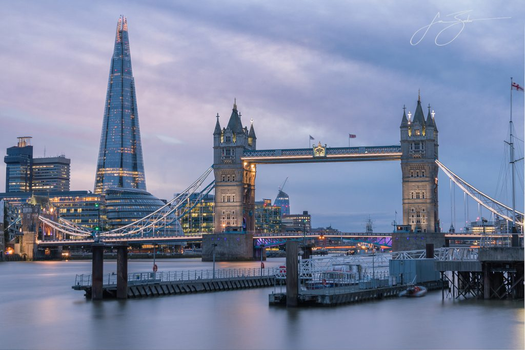Icons of the Thames - London, England by Jon Barker
