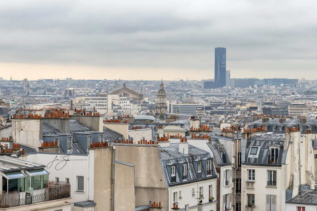 Rooftops - Paris, France by Jon Barker
