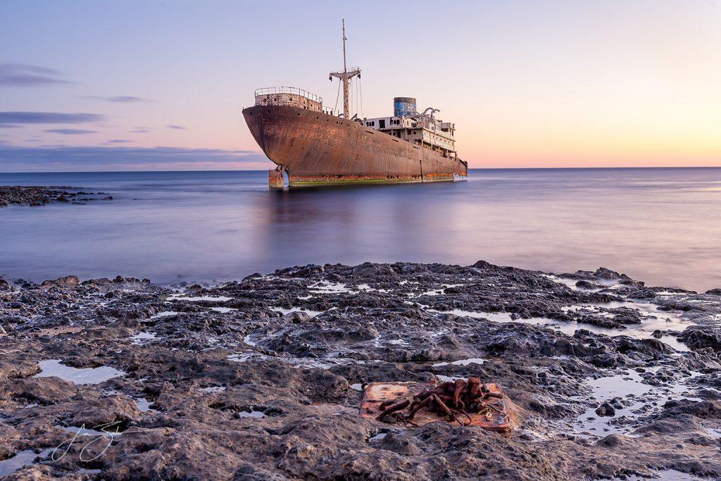 Ghost of the Telamon in Lanzarote by Jon Barker