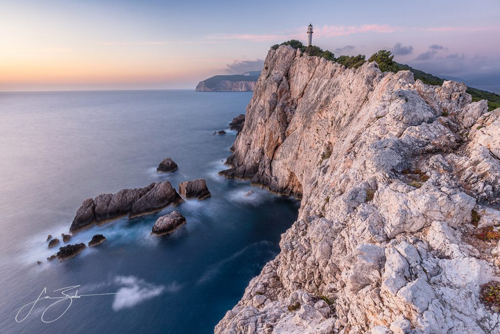 Cape Lefkada by Jon Barker