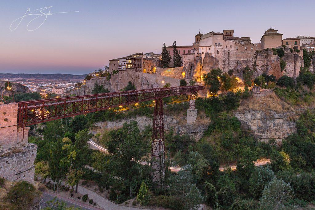 Over the Bridge - Cuenca, Spain by Jon Barker