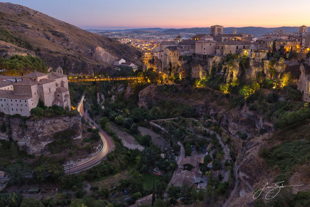 Sunset Over Cuenca - Cuenca, Spain by Jon Barker